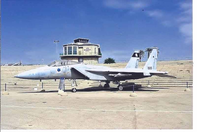 Kampfflugzeug Israel Air Force  Mc. Donnell Douglas F 15 A Eagle