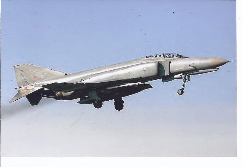 Kampfflugzeug Foto Germany air Force , McDonnell Douglas F-4 Phantom II