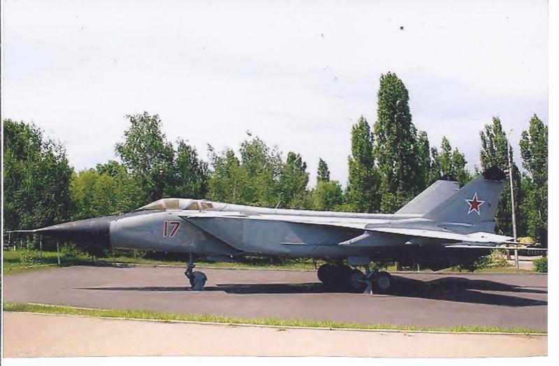 Kampfflugzeug Foto  RUssia Air Force Mikogan Gurevich Mig 31