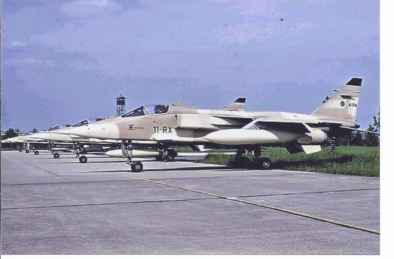 Kampfflugzeug Foto France Air Force Sepecat Jaguar A