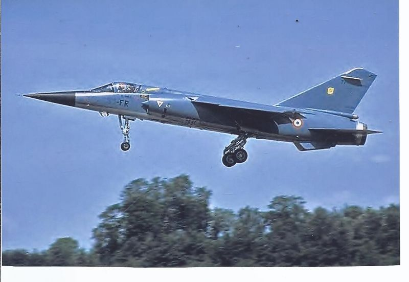 Kampfflugzeug Foto France Air Force - Dassault Mirage F 1 C