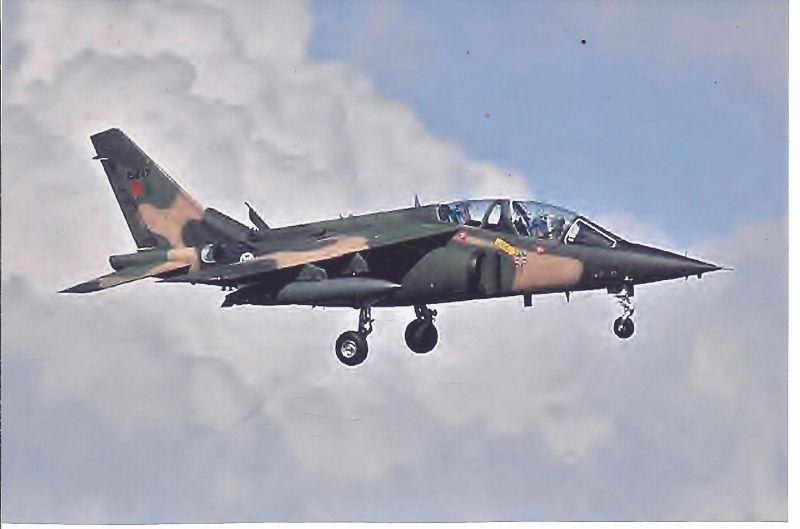 Kampfflugzeug Foto  Portugal AIR Force  Dassault Alphajet A