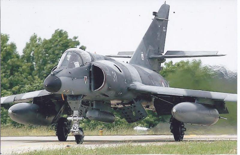 Kampfflugzeug Foto France Navy Dassault Super Etendard 3 be