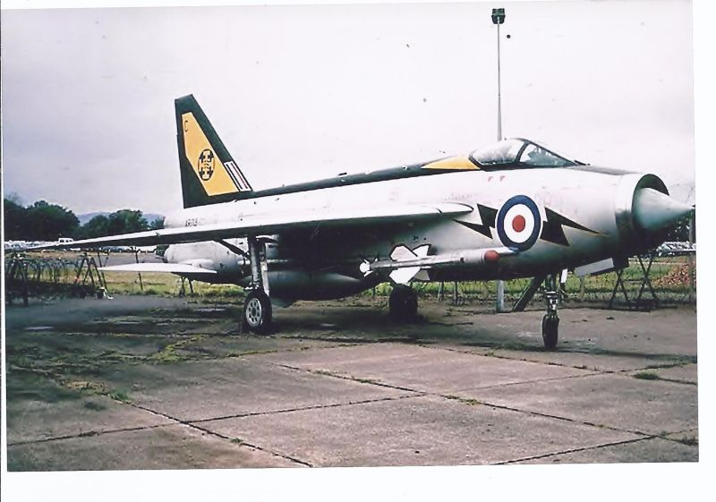 Kampfflugzeug Foto  UK Air Force English Electro Lightning F 3