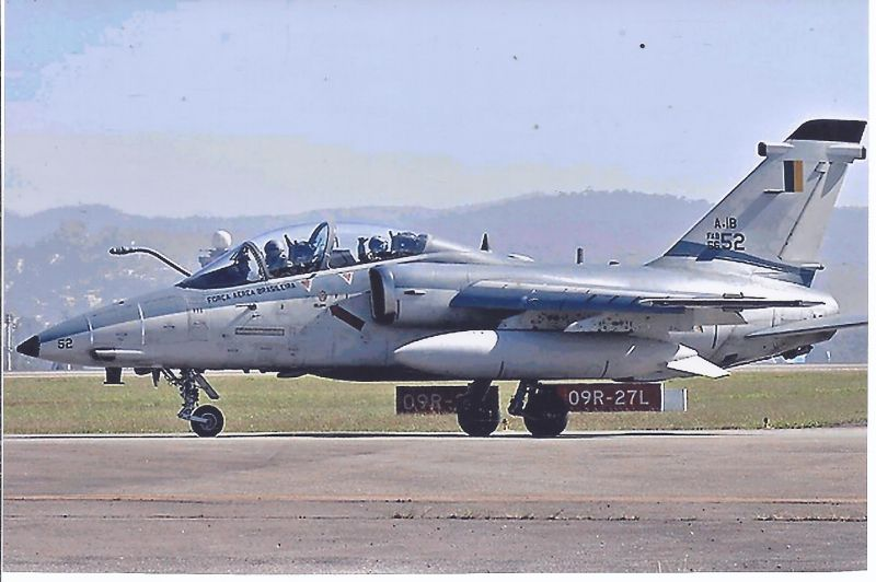 Kampfflugzeug Foto  Brazil AIR FORCE  Embraer AM X