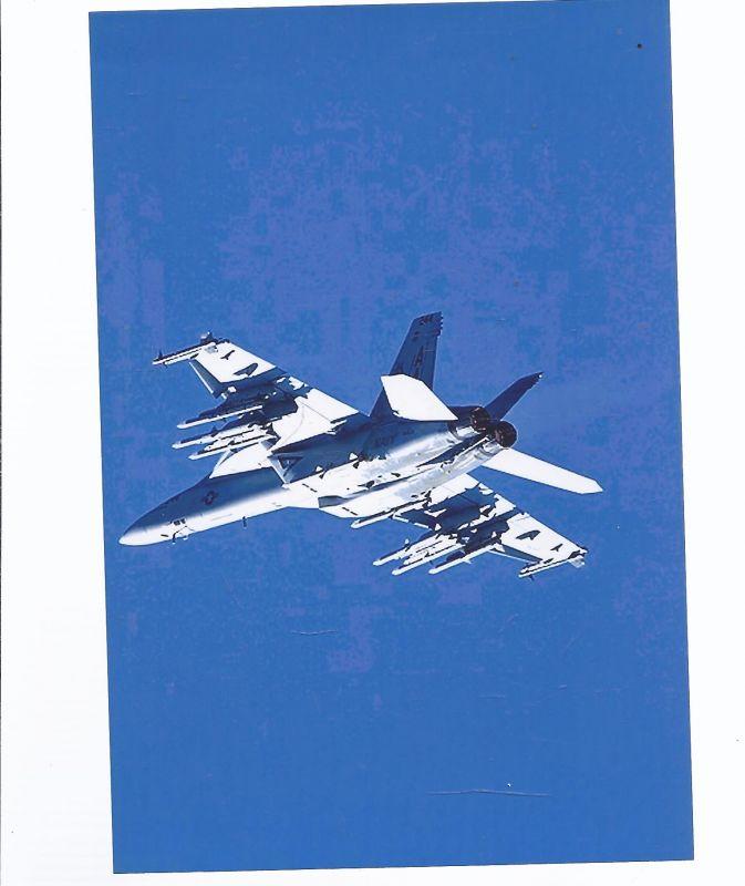 Kampfflugzeug USA Navy Foeing F/A  18 F  Super Hornet