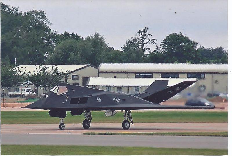 Kampfflugzeug Foto USA AIR Force Lockhead F 117 A Nighthawk