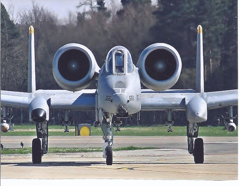Kampfflugzeug USA AIR FORCE Fairch A 10 A Thunderbold  II