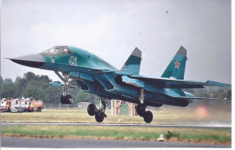 Kampfflugzeug Foto Russia Air Force Sukha SU 32