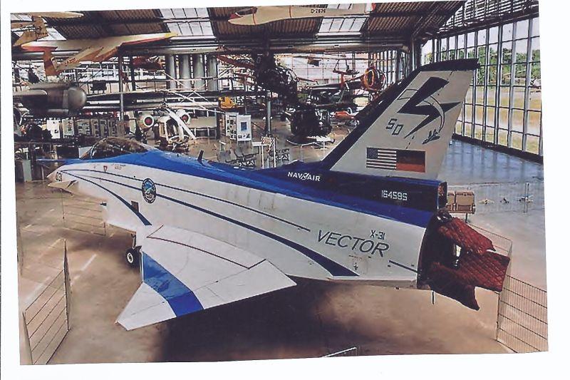 Kampfflugzeug Foto Unitled EADS Boeing X 31