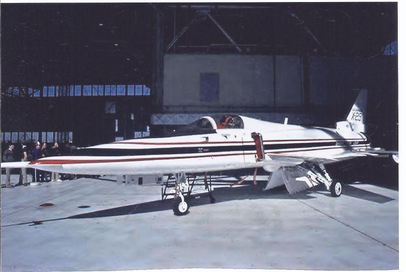 Kampfflugzeug Foto  USA AIR FORCE Grumman X 29