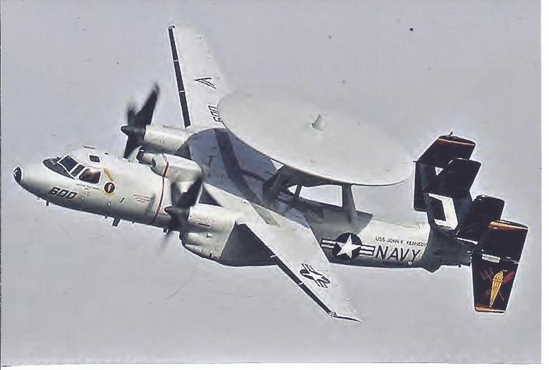 Kampfflugzeug Foto  USA NAVY Grumman E 2 C Hawkeye