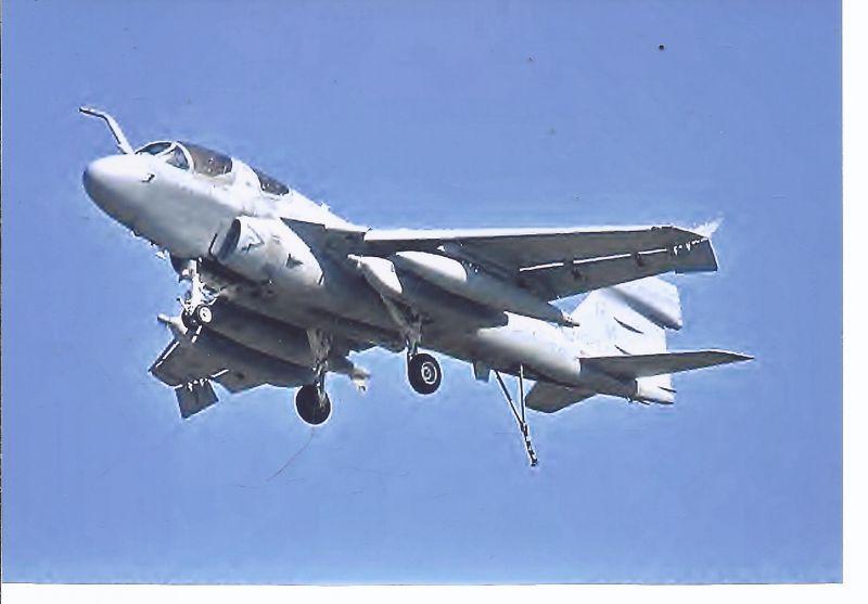 Kampfflugzeug  Foto USA NavY Grumman EA GB Prowler ( G-128)
