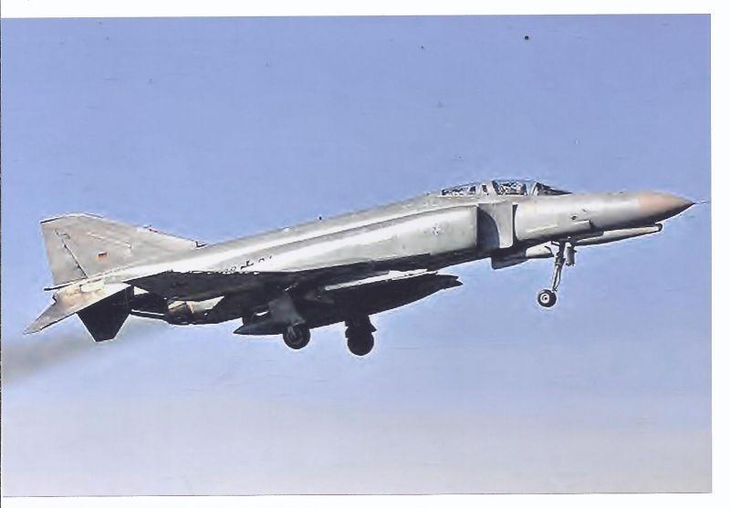 Kampfflugzeug Foto German Air Force  Mc.Donnell Doglas F - 4 Phantom II