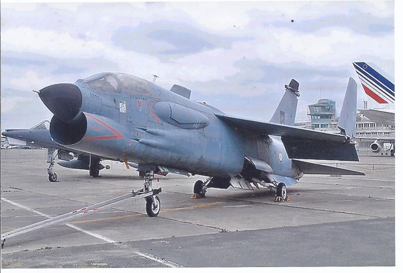 Kampfflugzeug Foto  France Navy Vought F 88 Crusader
