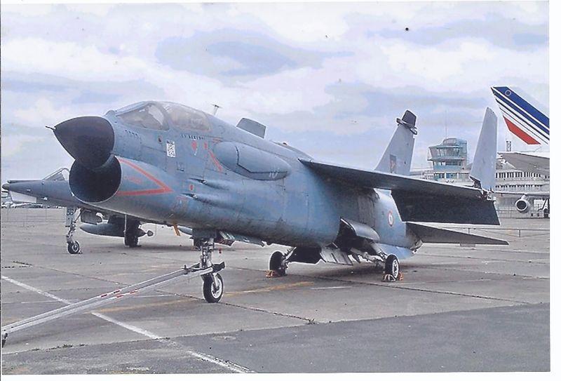 Kampfflugzeug Foto  France Navy Vought F 88 Crusader