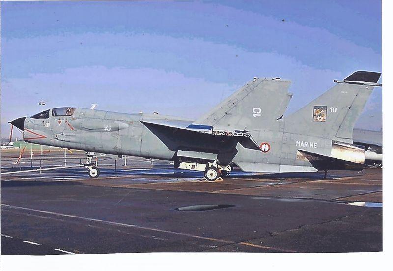 Kampfflugzeug Foto France Navy Vought F - 8 E (FN) Crusader