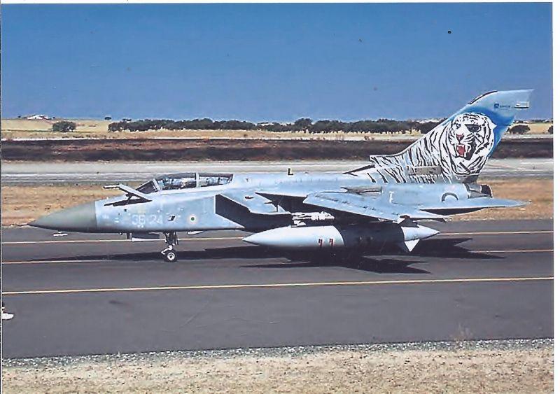 Kampfflugzeug Italy Air Force Panavia Tornade ADV