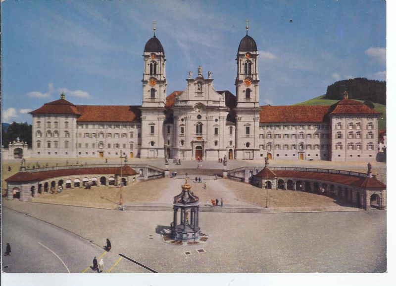 AK5-031 Kloster Einsiedeln Fotokarte