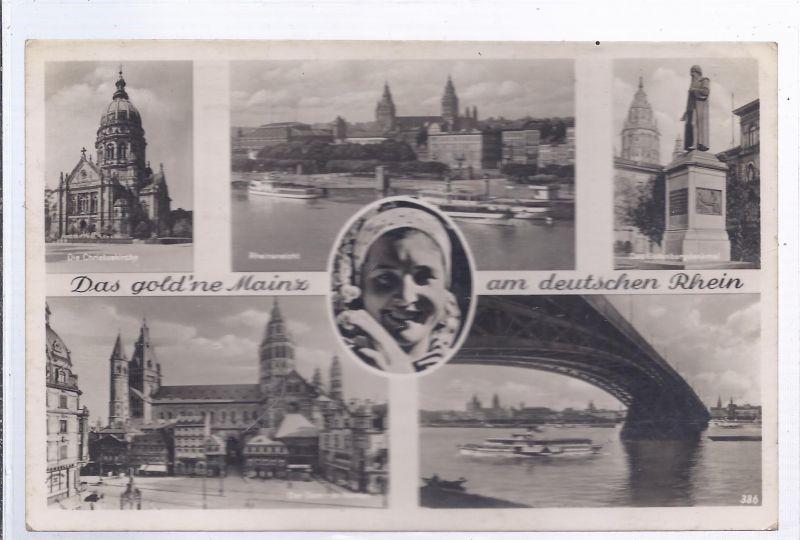 1299-  Das goldene Mainz am deutschen Rhein, Mehrbildkarte