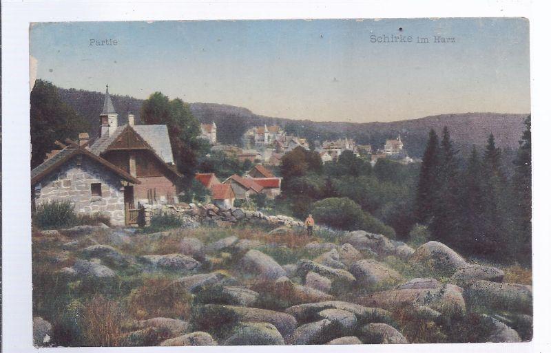 1277 Schierke i. Harz , Partie , Fotokarte