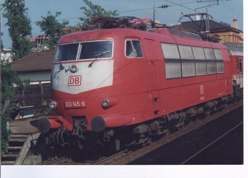Eisenbahn Foto150 x 105 mm