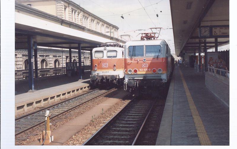 Eisenbahn Foto 150 x 105 mm