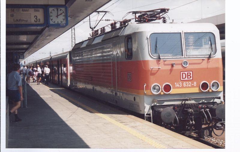 Eisenbahn Farbfoto 150 x105