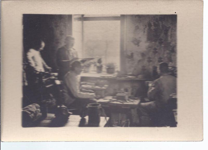 Militär-Malb - Foto - Schreibstube 1. WK -