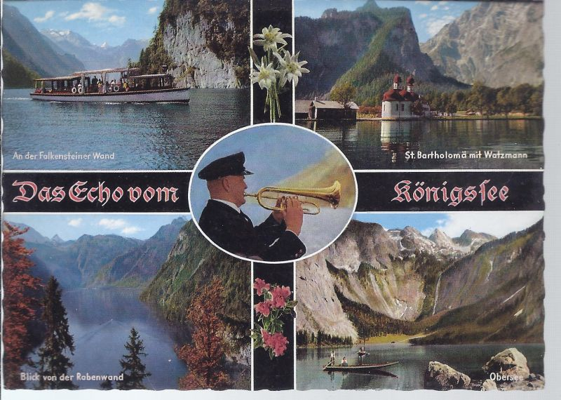 AK5-284 Das Echo vom Königssee - Mehrbild
