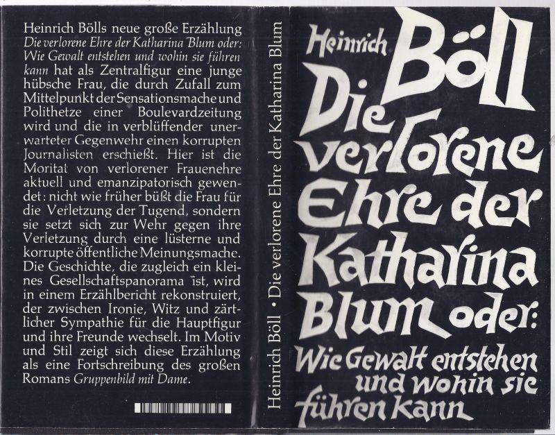 02mö-box2 - Heinrich Böll  - Die verlorene Ehre der Katharina Blum oder : Wie Gewalt entstehen und wohin sie führen kann