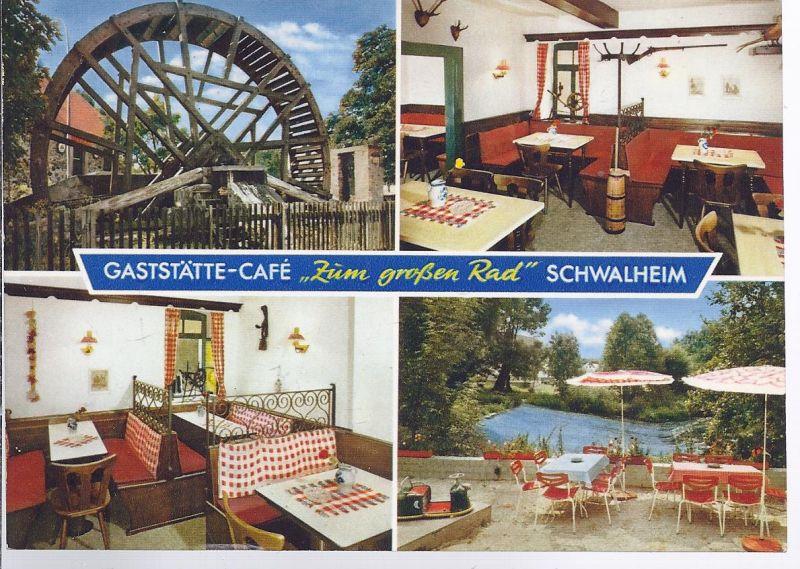 92034 - Gaststätte Cafe  Zum großen Rad , Schwalheim  Mehrbild (4)