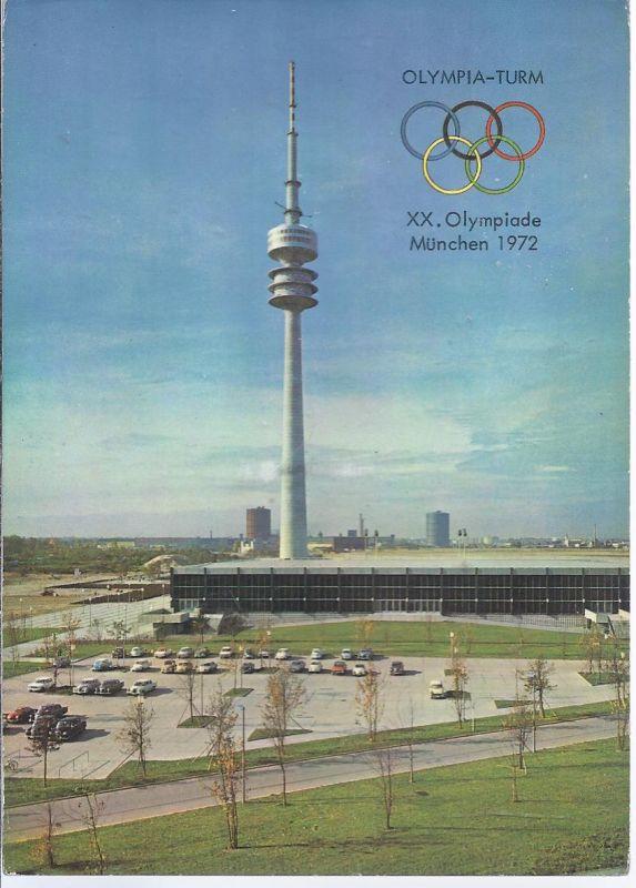 2050-69 München - Oberwiesenfeld -  XX Olympiade 1972 - Olympiaturm