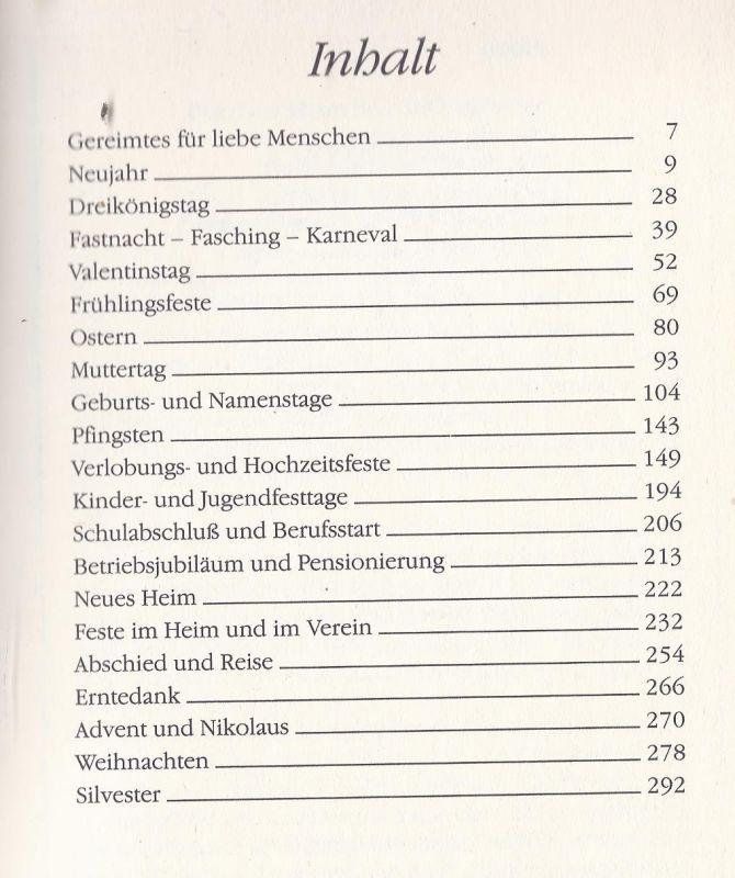 Waku Möbox Die Schönsten Glückwünsche Texte Und Gedichte Für Jeden Anlaß Herausgeber Bruno Horst Bull