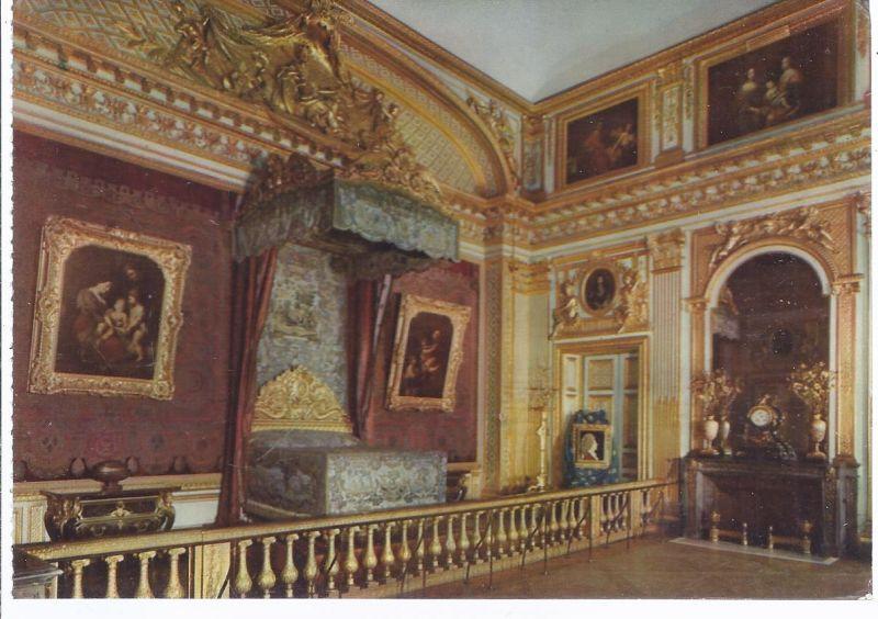 91300 - Versailles Schloß ,  Chambre du Roi au 1701