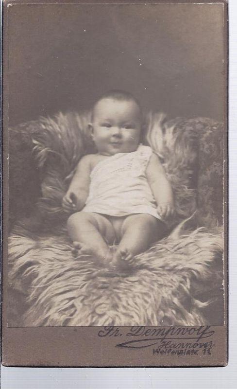 91302 - Hartkarton Babyaufnahme, Atelier Dempfwolf , Hannover  einseitig