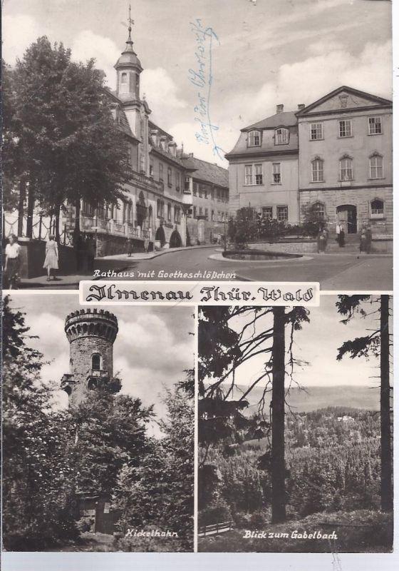 hoki-A-4 Ilmenau , Thür. Wald  Mehrbild (3)