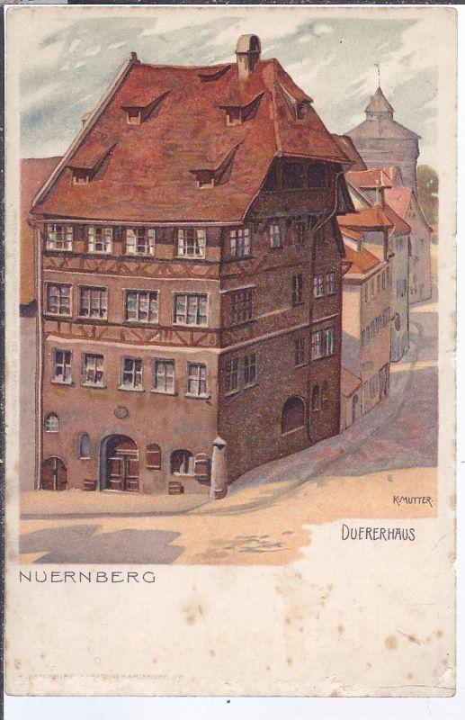 alb-8600 NÜRNBERG  - Dürerhaus