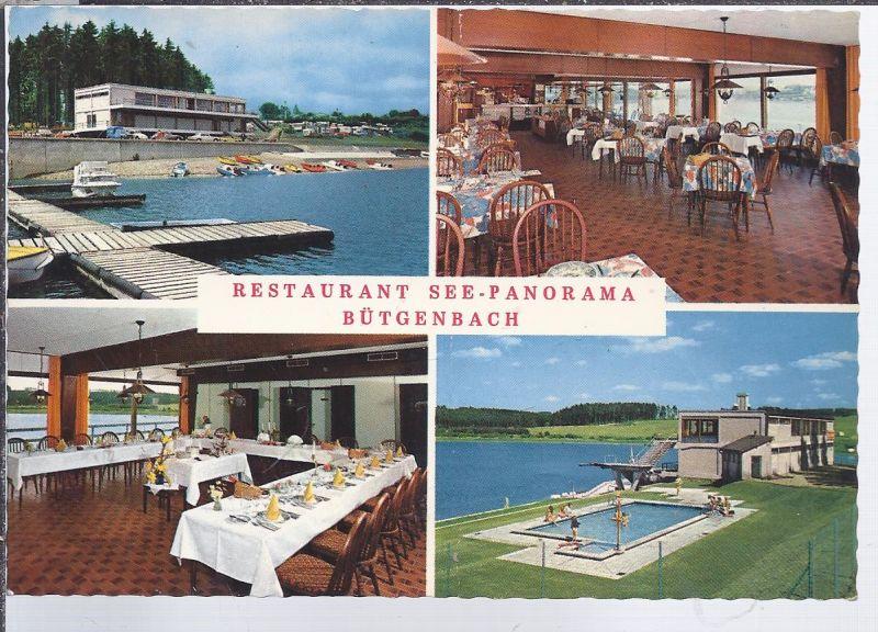 alb-8600 - Bütgenbach Belgien  , Restaurant See Panorama Mehrbild (4)