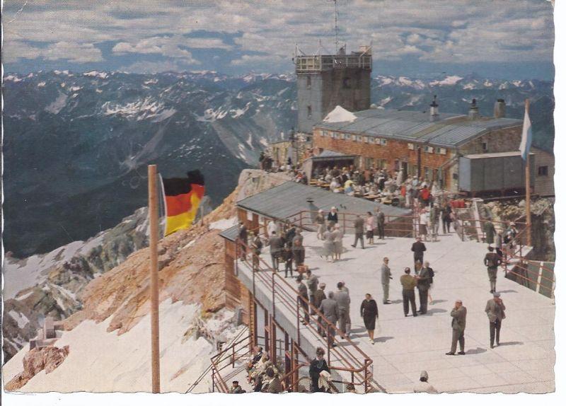94521 Zugspitze , Münchner Haus - Aussichtsterasse