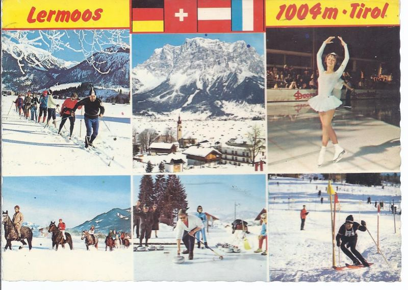 94621-69 Lermoos - Mehrbild Wintersport - Tirol