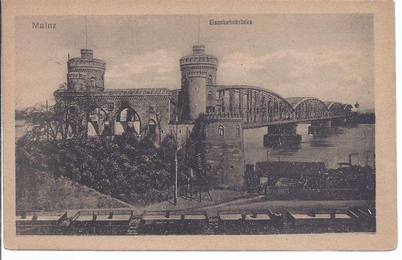 2914  Mainz, Eisenbahnbrücke