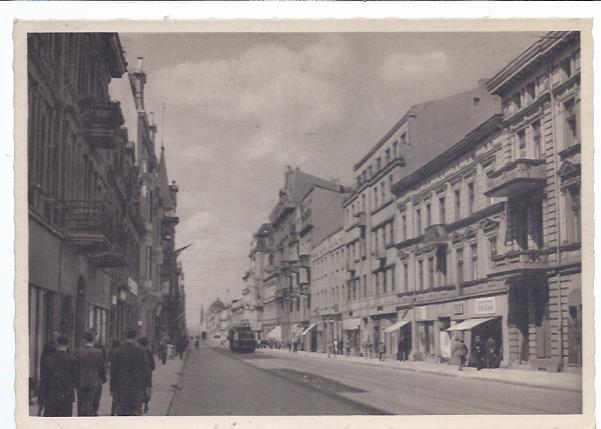 80765 Litzmannstadt - Polen - Adolf Hitler Straße