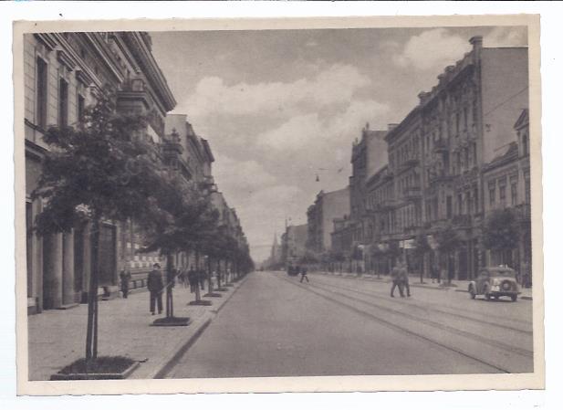 79766 Litzmannstadt , Polen , Adolf Hitler Strasse