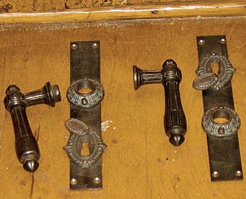 altes klinkenset 1900 standart klinkengrösse wie heutige auch ist aber vor 1900 genutzt worden