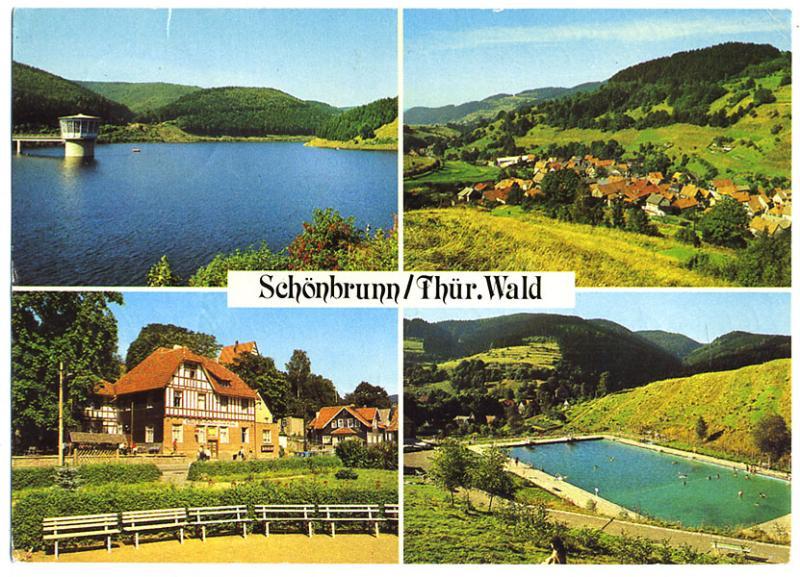 AK, Schönbrunn - Thüringer Wald