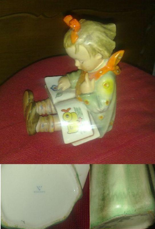 HUMMEL Figur 3/1;der Bücherwurm,Original, wie neu