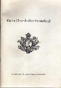Josef Schubert: Kleine Chronik über Heisterbach.