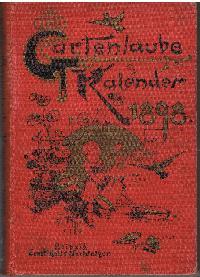 Gartenlaube Kalender für das Jahr 1898.