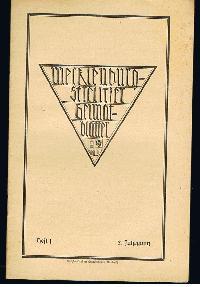 Mecklenburg-Strelitzer Heimatblätter Heft 1 März 1926.